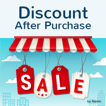 Discount After Purchase