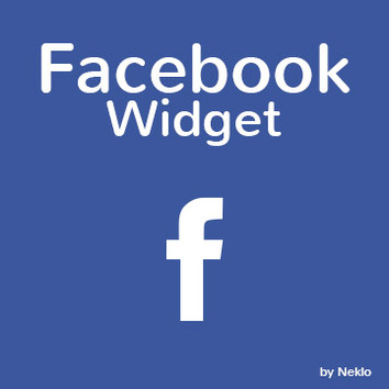 NEKLO Facebook Widget for Magento 1