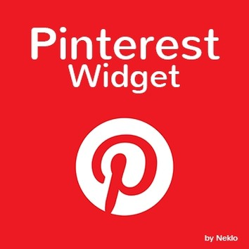 pinterest widget logo