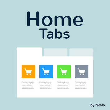 Home Tabs for Magento 2