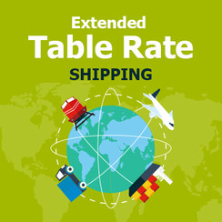 Extended Table Rate Shipping for Magento 1