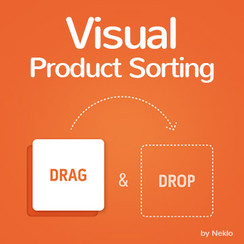 Visual Product Sorting by Drag and Drop for Magento 1