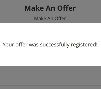 offer registration example