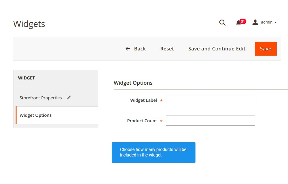 Integrate widgets into any page of your store